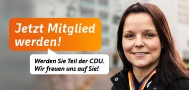 CDU Mitglied werden